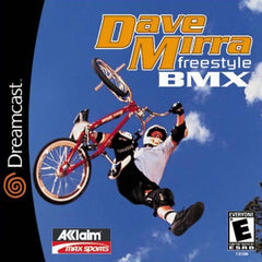 Dave Mirra Freestyle BMX Box Art