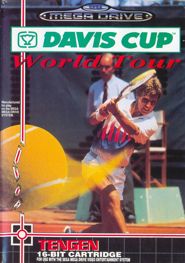 Davis Cup World Tour Box Art