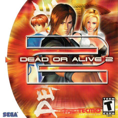 Dead or Alive 2 Box Art