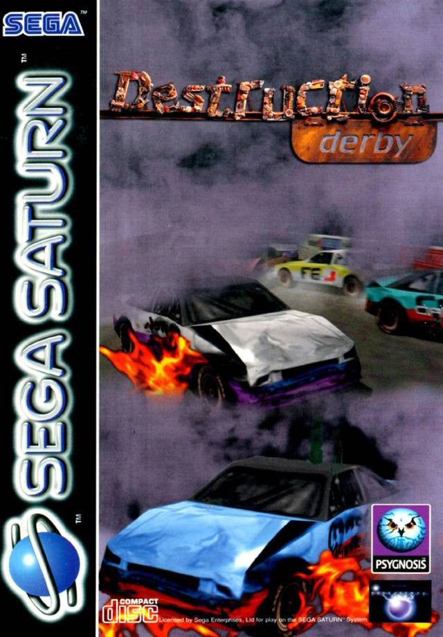 Destruction Derby Box Art