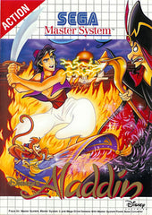 Disney's Aladdin Box Art