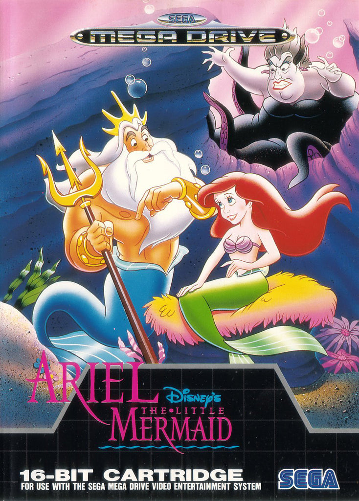Disney's Ariel: The Little Mermaid Box Art