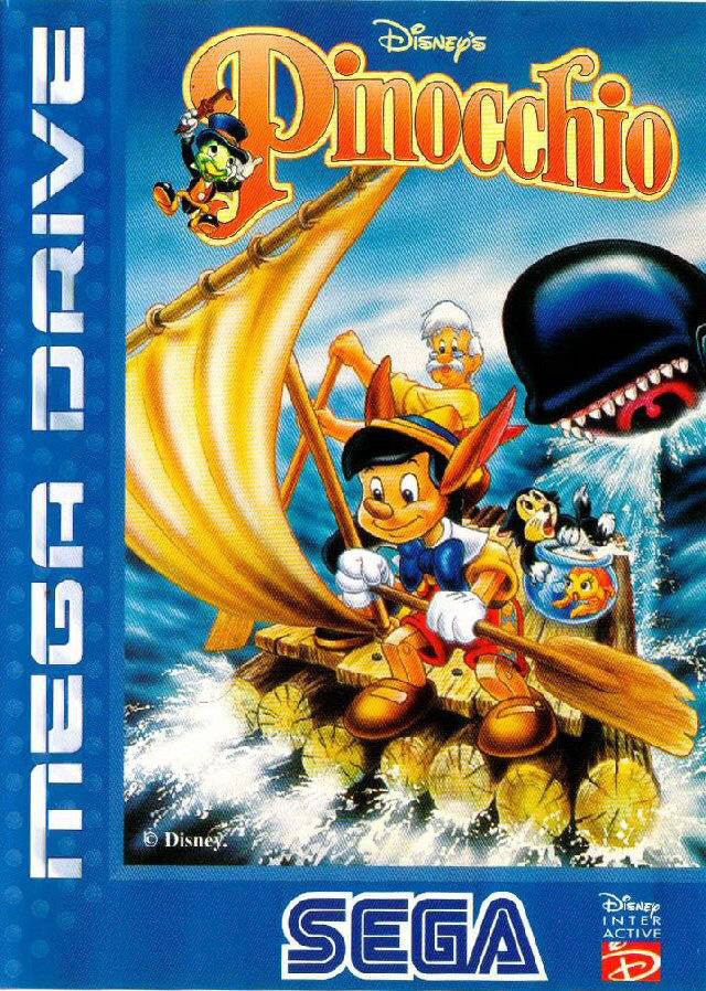 Disney's Pinocchio Box Art