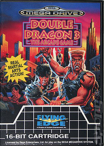 Double Dragon III: The Arcade Game Box Art
