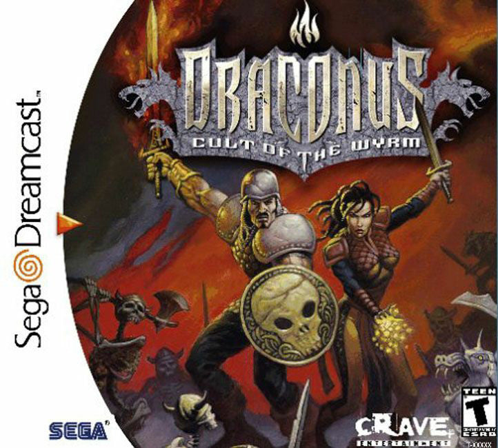 Draconus: Cult of the Wyrm Box Art