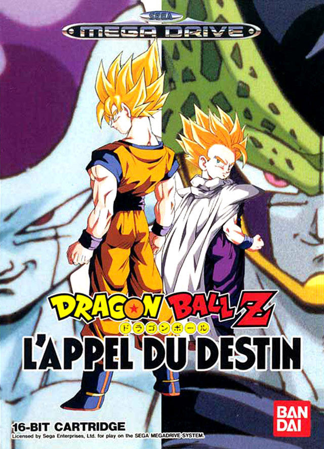 Dragon Ball Z: L'Appel Du Destin Box Art
