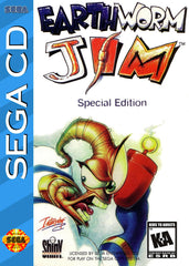 Earthworm Jim Special Edition Box Art