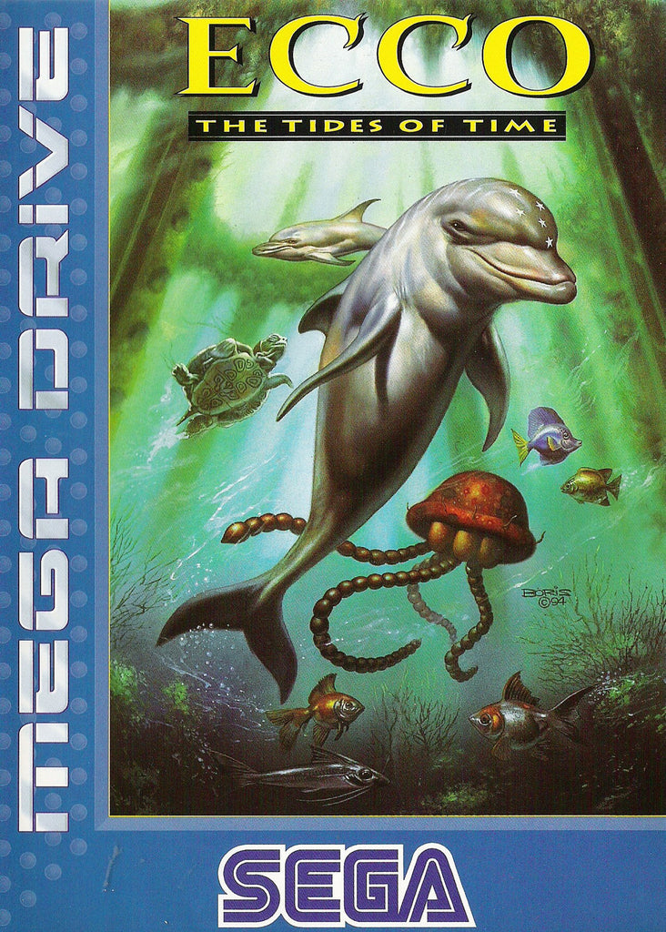 Ecco: The Tides of Time Box Art