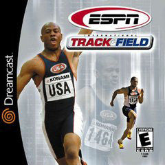 ESPN International Track & Field Box Art