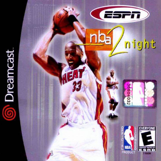 ESPN NBA 2Night Box Art