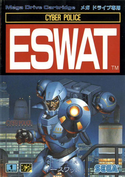 ESWAT: City under Siege Box Art