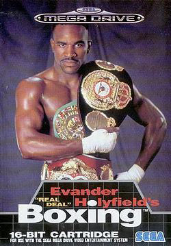 Evander Holyfield Boxing Box Art