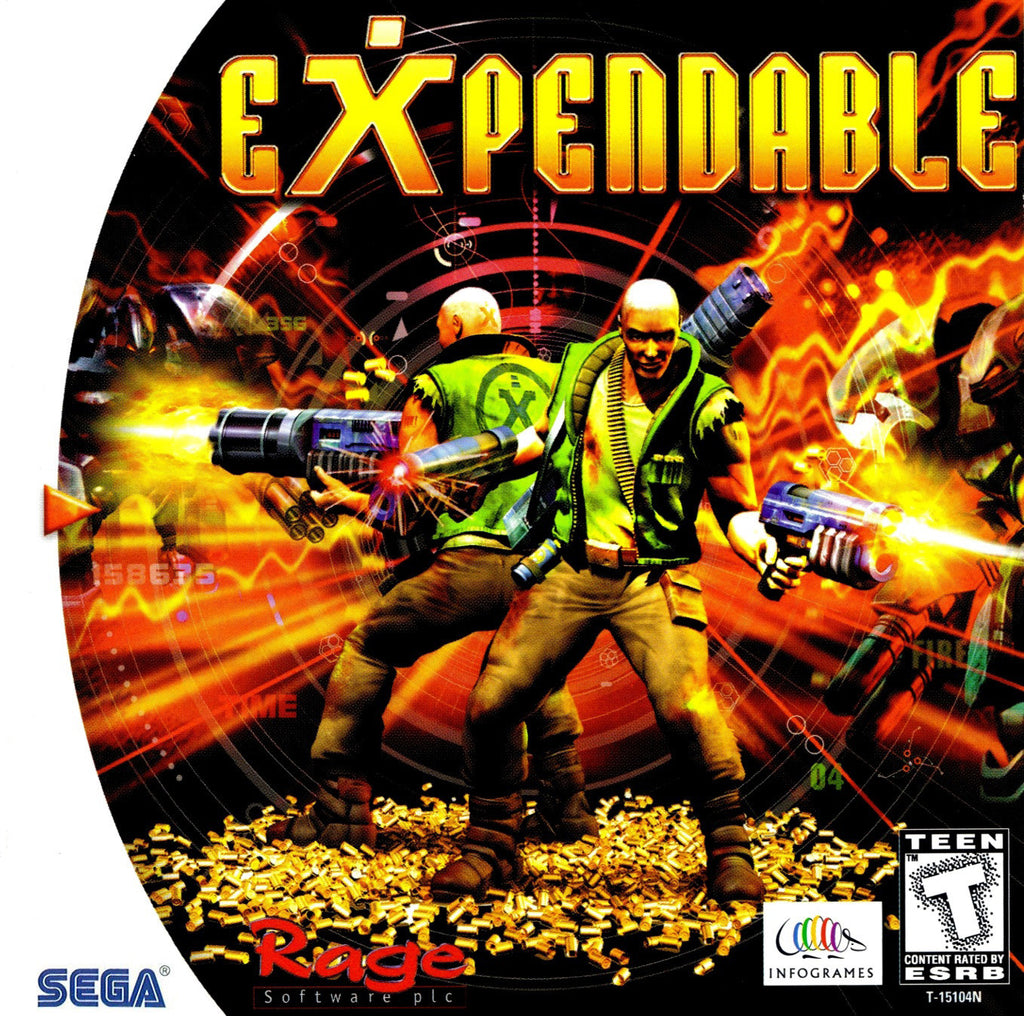 Expendable Box Art