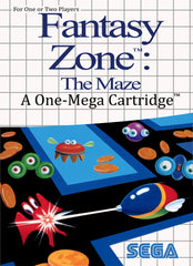 Fantasy Zone: The Maze Box Art
