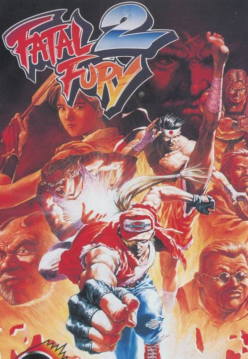 Fatal Fury 2 Box Art