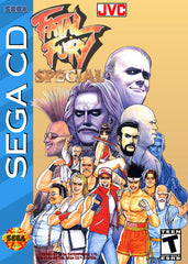 Fatal Fury Special Box Art