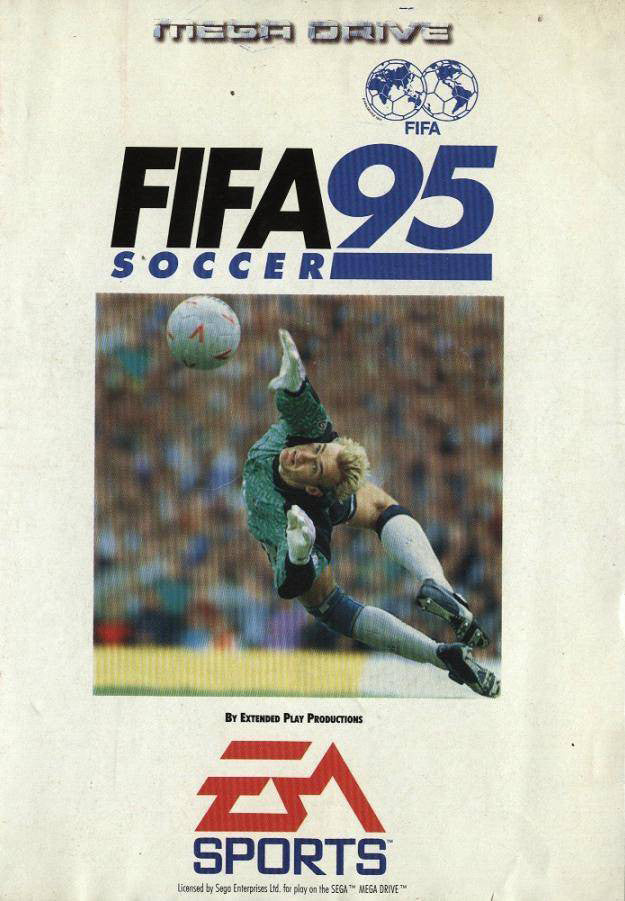 FIFA Soccer '95 Box Art
