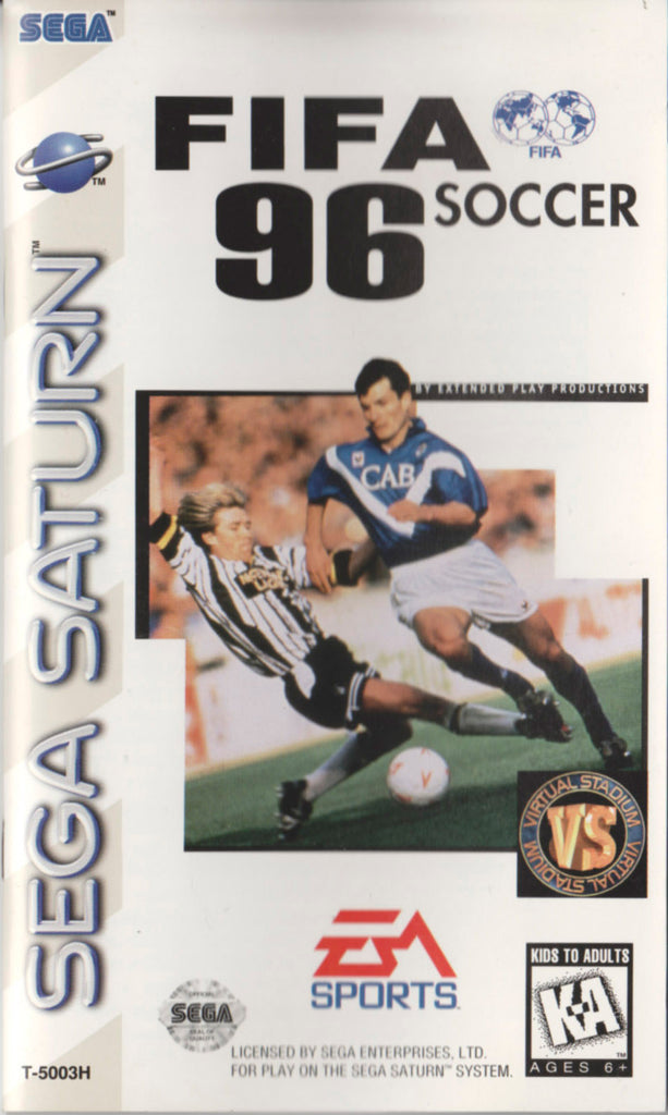 FIFA Soccer 96 Box Art