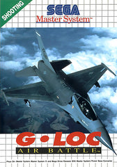 G-LOC Air Battle Box Art