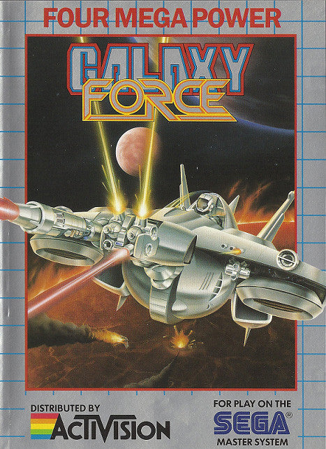 Galaxy Force Box Art