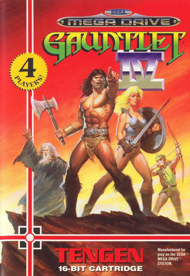 Gauntlet IV Box Art