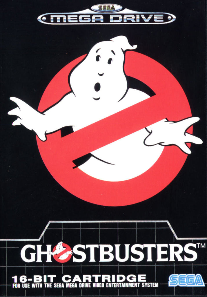 Ghostbusters Box Art