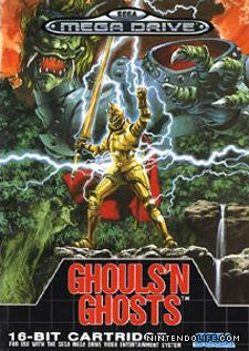 Ghouls 'n Ghosts Box Art