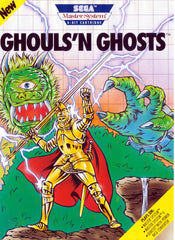 Ghouls'n Ghosts Box Art