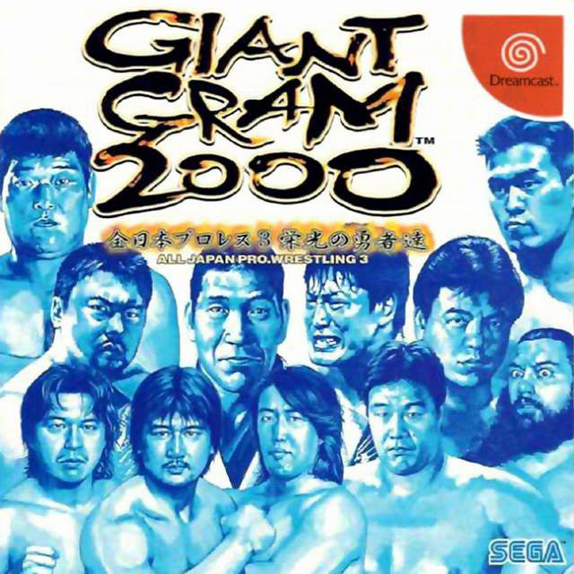 Giant Gram 2000: All Japan Pro Wrestling 3 Box Art