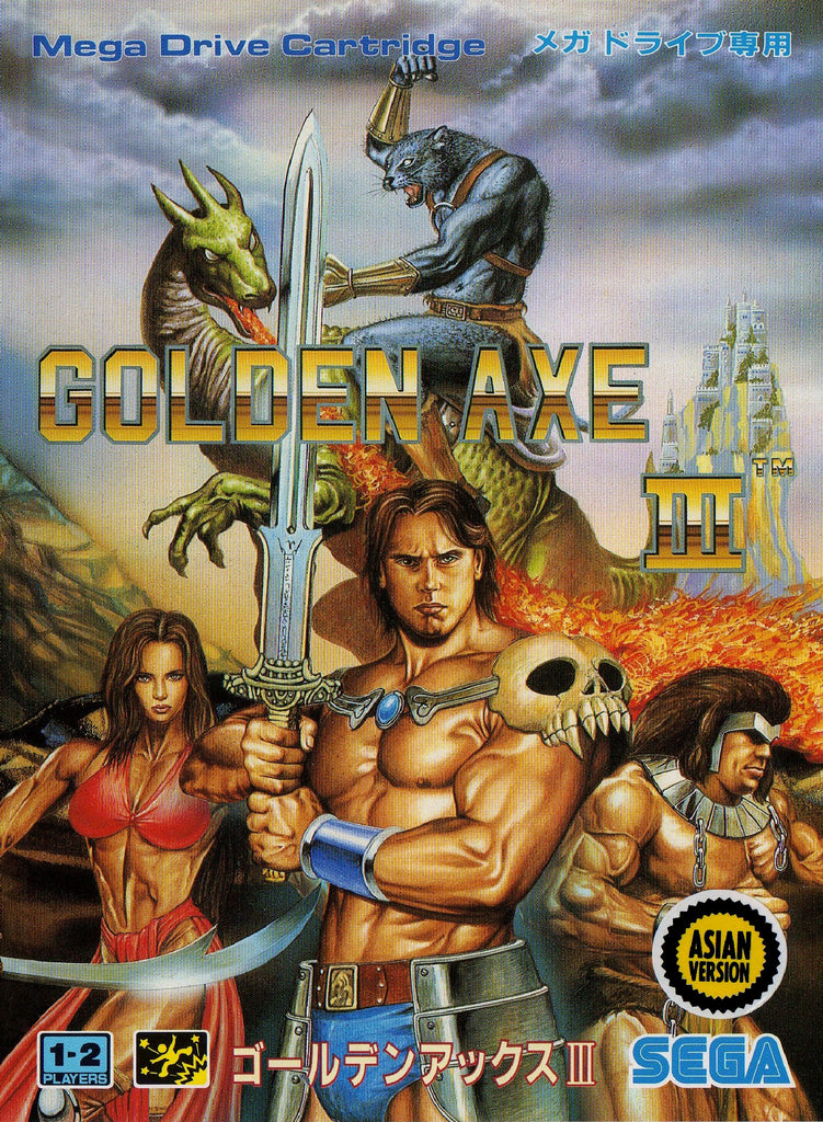 Golden Axe III Box Art