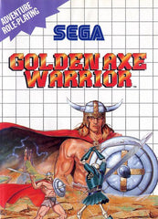 Golden Axe Warrior Box Art