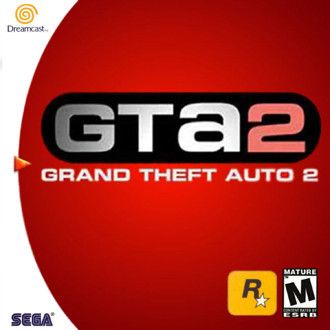 Grand Theft Auto 2 Box Art