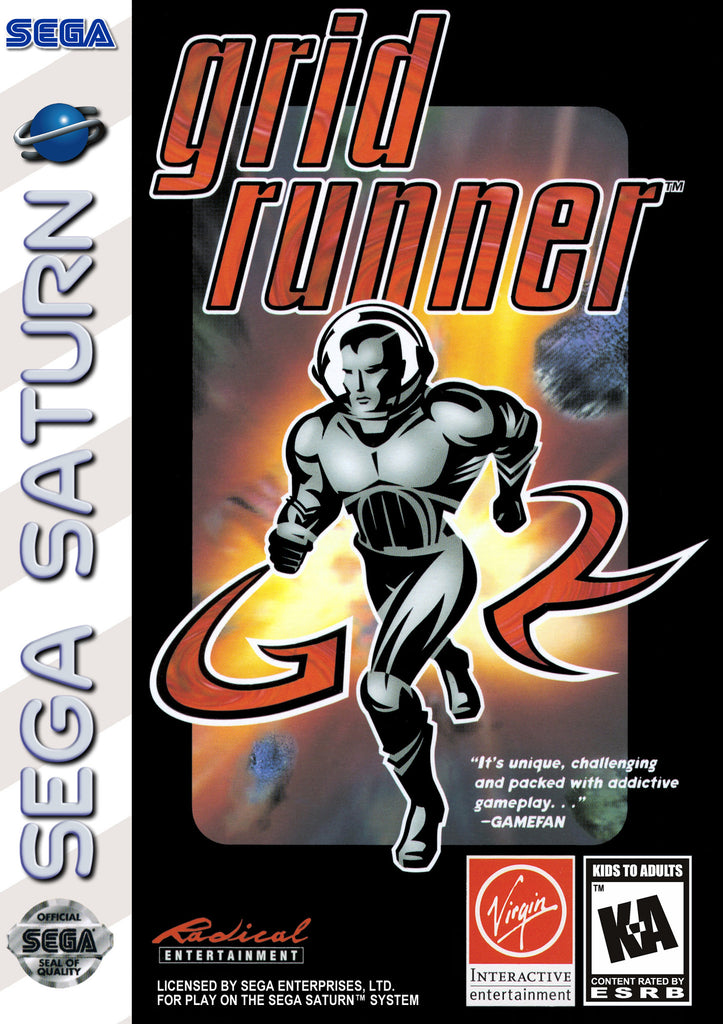 Grid Runner Box Art