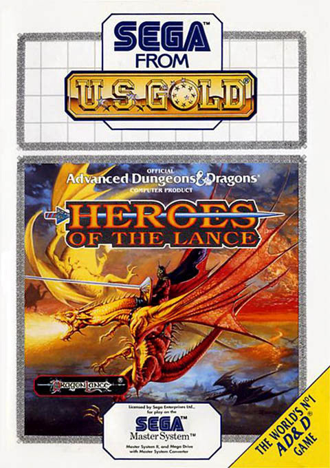 Heroes of the Lance Box Art