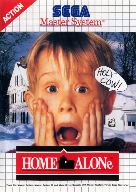 Home Alone Box Art