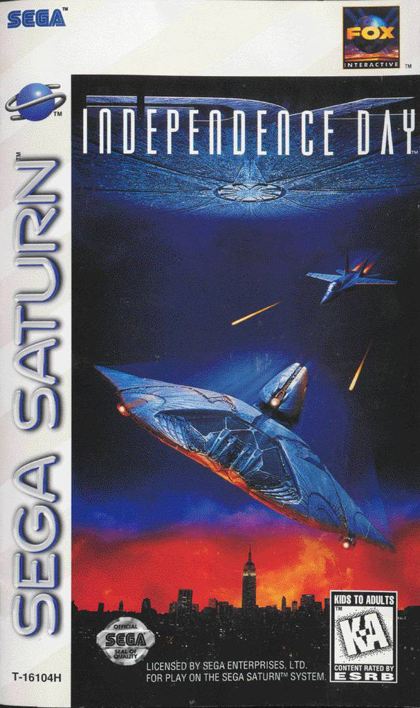Independence Day Box Art