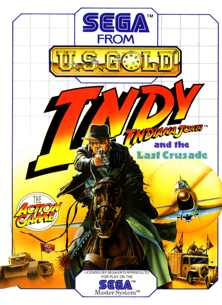 Indiana Jones and the Last Crusade Box Art