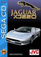 Jaguar XJ220 Box Art