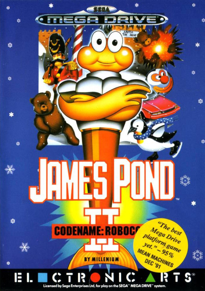 James Pond 2: Codename RoboCod Box Art