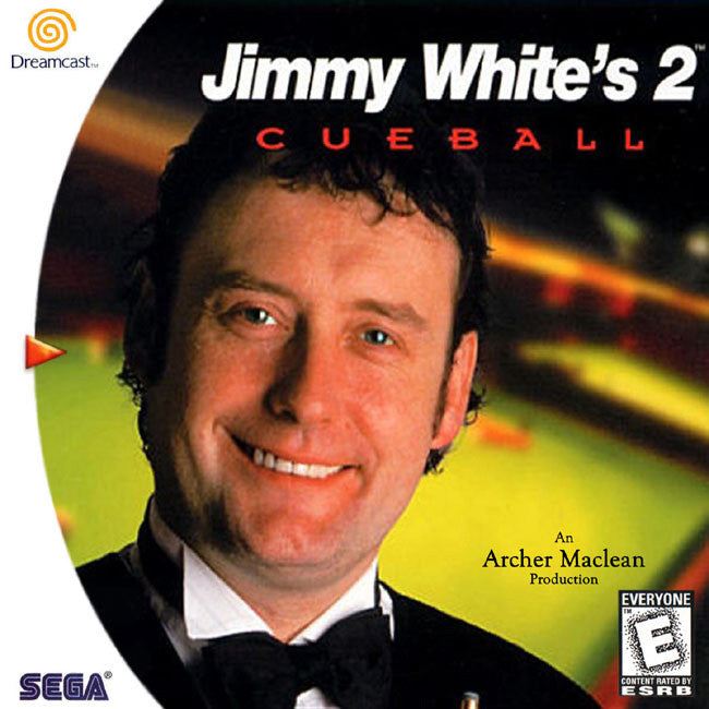 Jimmy White's 2: Cueball Box Art