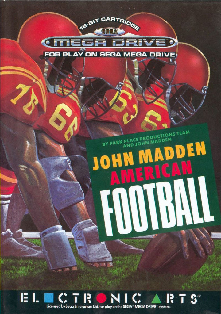 John Madden American Football Box Art