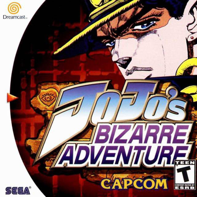JoJo's Bizarre Adventure Box Art