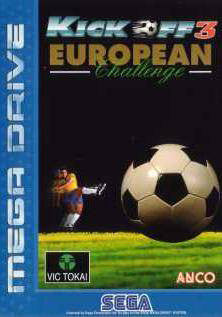 Kick Off 3: European Challenge Box Art