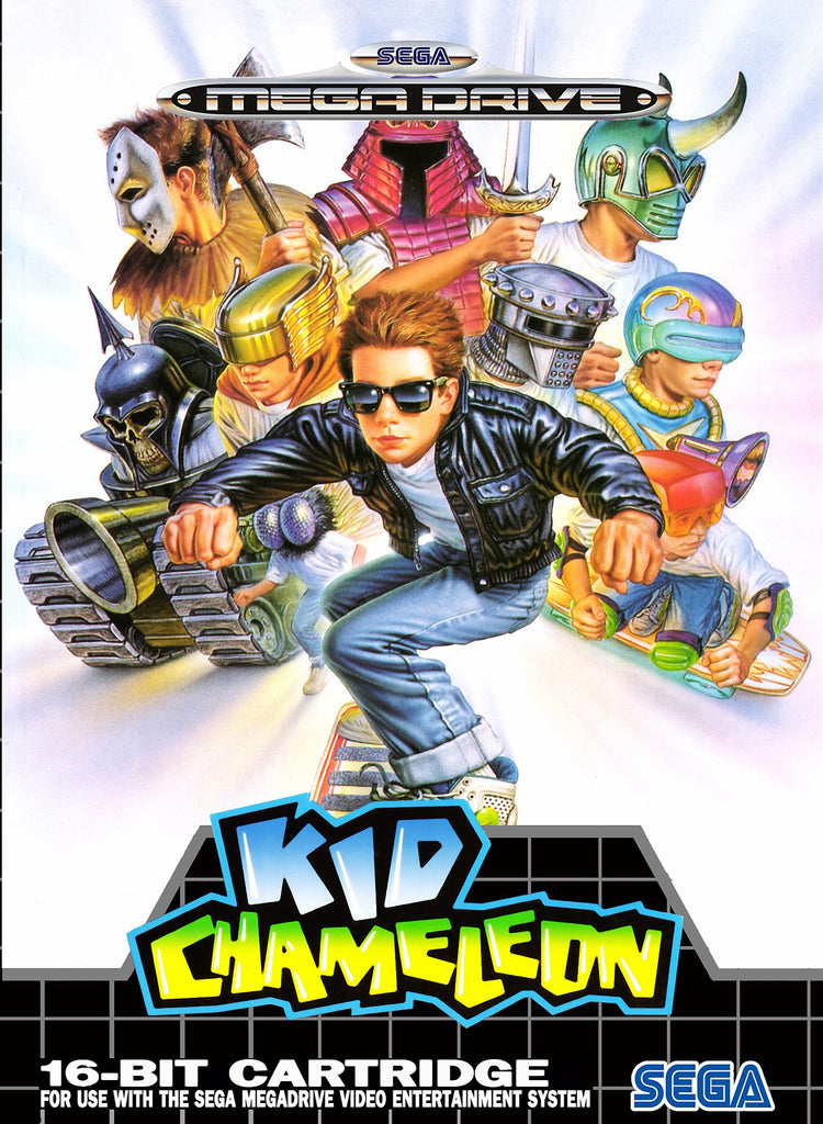 Kid Chameleon Box Art
