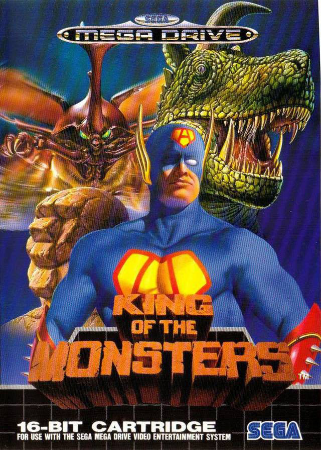 King of the Monsters Box Art