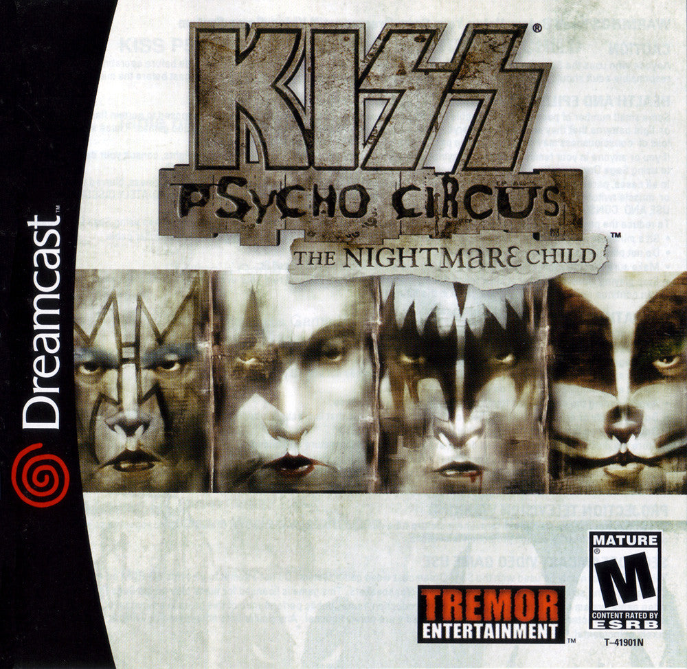 Kiss: Psycho Circus: The Nightmare Child Box Art