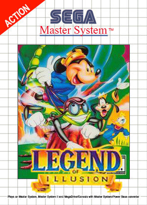 Legend of Illusion Starring Mickey Mouse Box Art