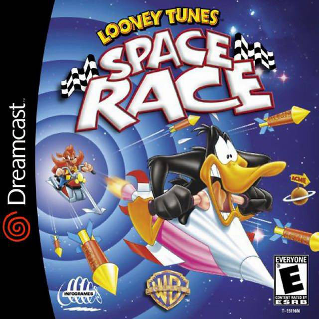 Looney Tunes: Space Race Box Art