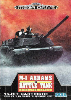 M-1 Abrams Battletank Box Art