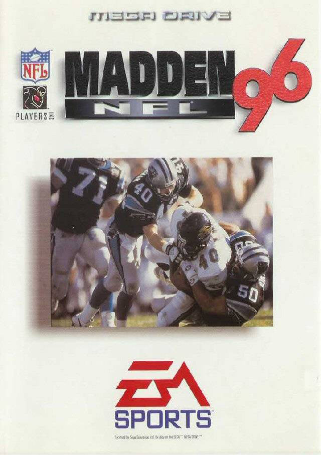 Madden NFL '96 Box Art